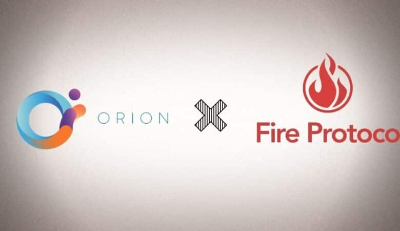 Fire Protocol and Orion Protocol Establishes Strategic Partnership
